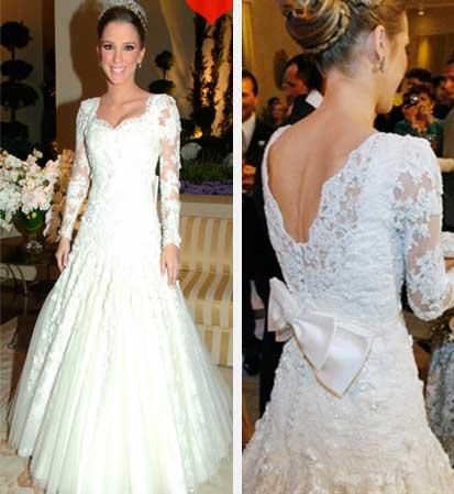 Tamara Contijo Rudge vestido de noiva