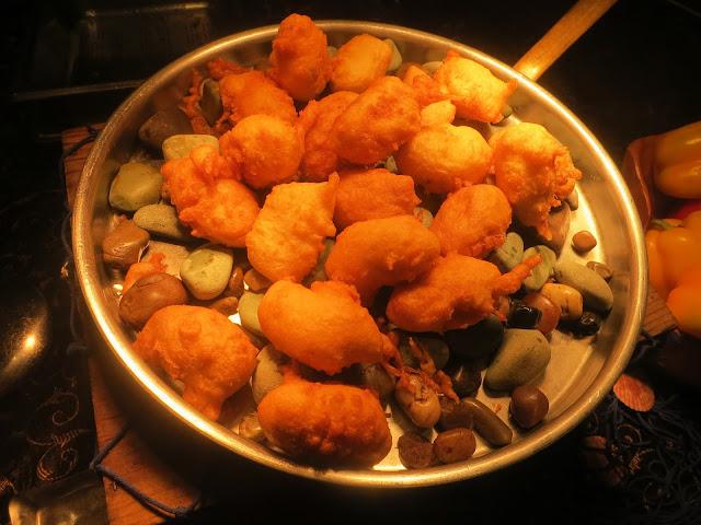 crab beignets