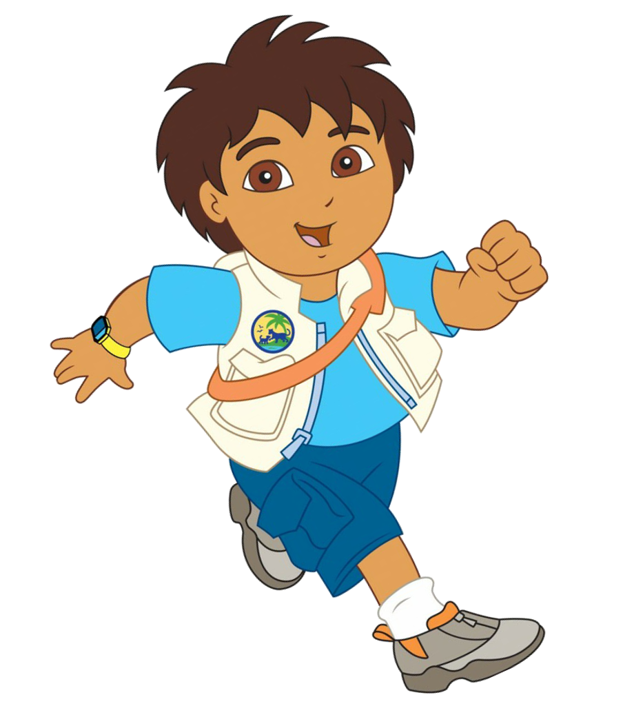Cartoons Go Diego Go: Cartoon Characters: CharacterART's (newer Files