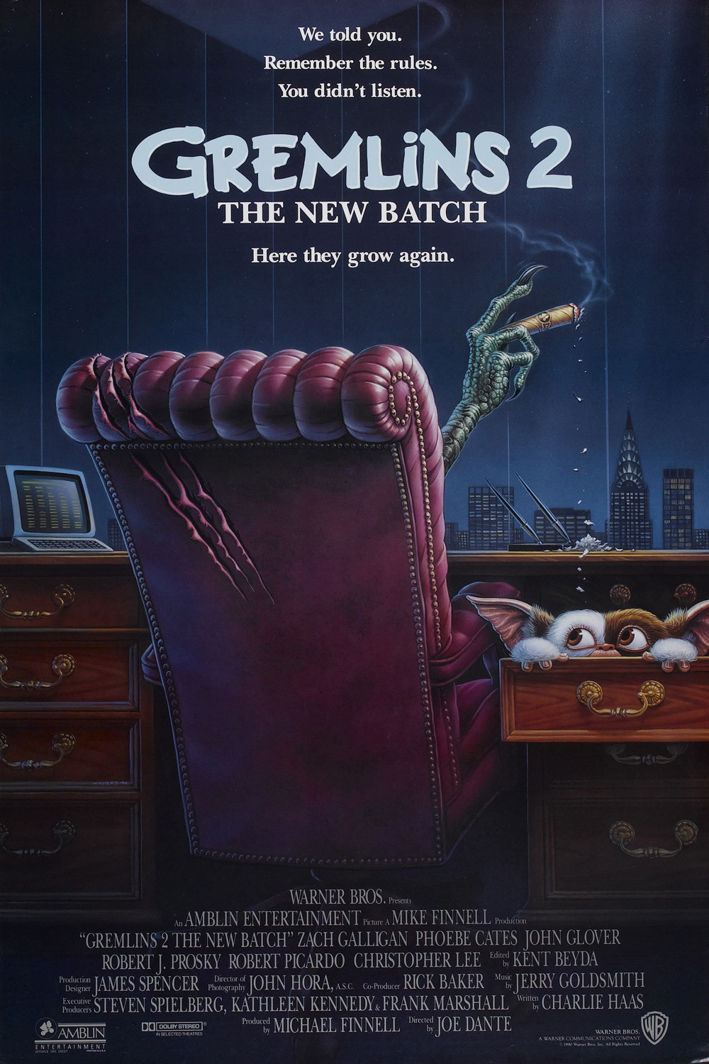 Gremlins 2: The New Batch (1990) ταινιες online seires oipeirates greek subs
