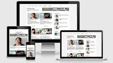 Future Art Template Blogger Premium Responsive Dan Seo Friendly