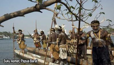 Suku Asmat, Papua Barat