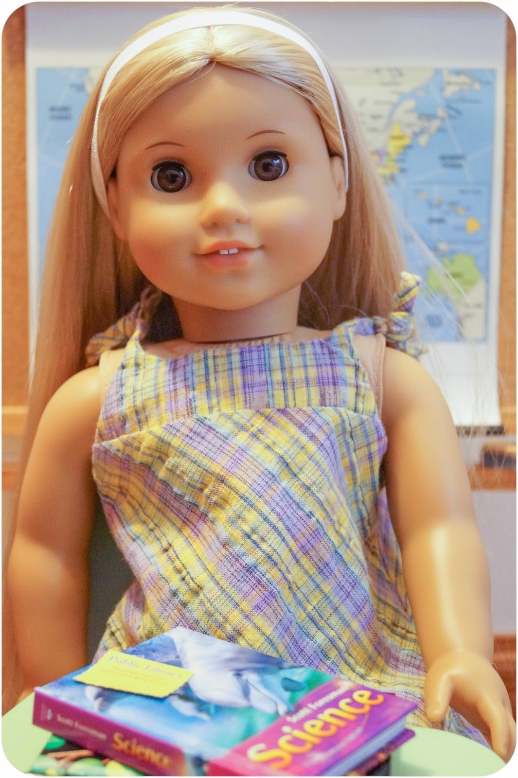 That 70's Girl – A review of Julie's Skateboarding Set and ...  |American Doll Julie Albright