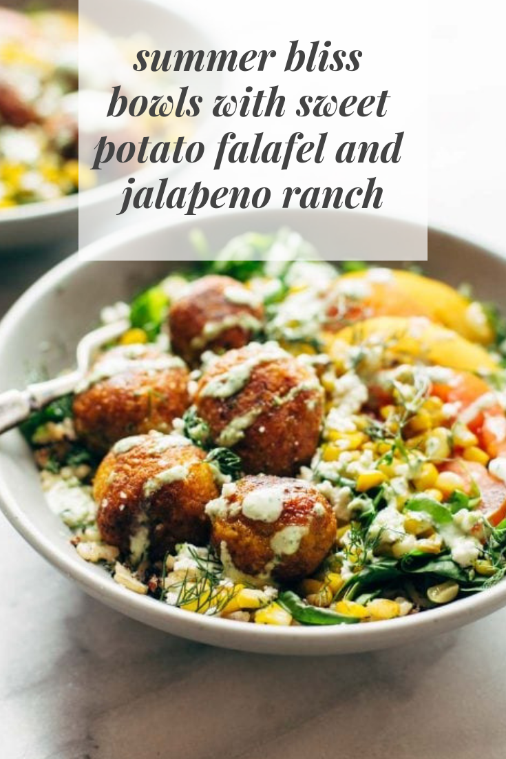 #summer #bliss# bowls #with #sweet #potato #falafel #and #jalapeno #ranch