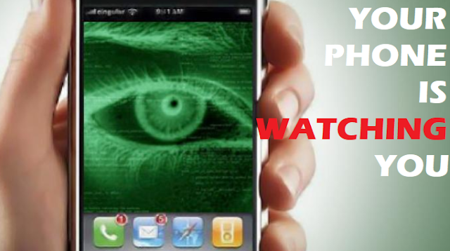 How to know if someone is watching you through your smartphone