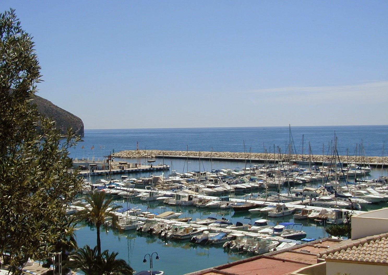 Moraira's lovely marina
