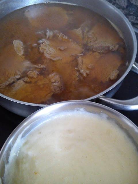 Solomillo De Ternera Guisado Con Pure De Patata