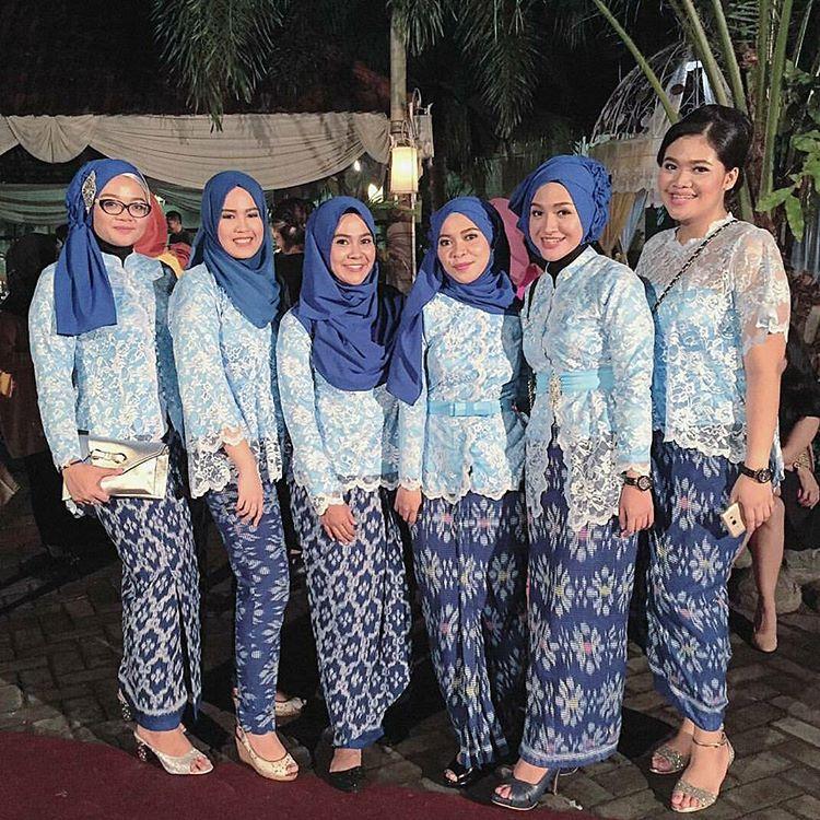 19+ Model Baju Kebaya Pesta Khusus untuk Wanita Berhijab ...
