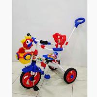 royal ry3388s rooster tongkat sepeda roda tiga bmx anak