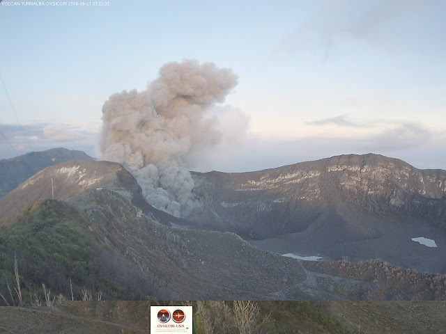 Un point sur l'activit� des volcans Dukono, Klyuchevskoy et Turrialba