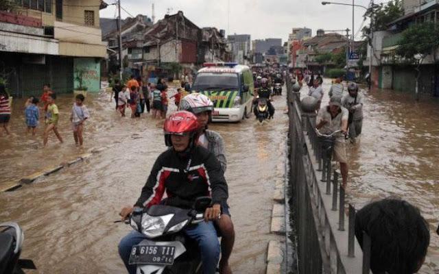 Lụt lội tại Jakarta