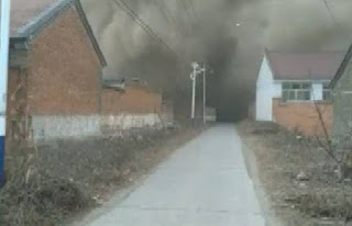 ledaka kembang api cina memakan korban