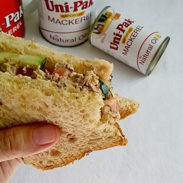 All-Around Pinay Mama, Uni-Pak Mackerel Recipes and Giveaway, Mackerel Sisig, Mackerel Sandwich, Mackerel Gising-gising, Mackerel Rolls
