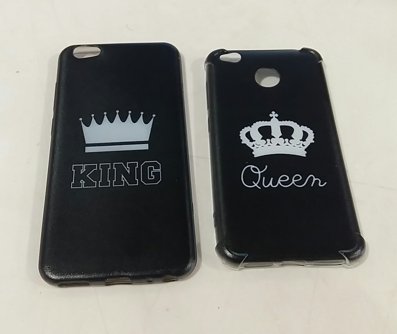 custom case king & Queen couple