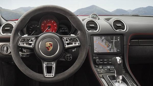 Interior Porsche 718 Cayman GTS