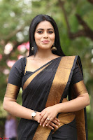 Poorna in Cute Backless Choli Saree Stunning Beauty at Avantika Movie platinum Disc Function ~  Exclusive 132.JPG