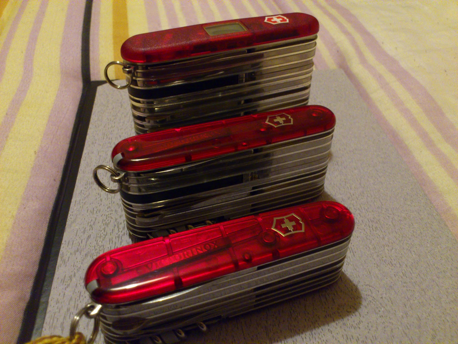 Mario S Swiss Army Knives Victorinox Swisschamp Xlt And