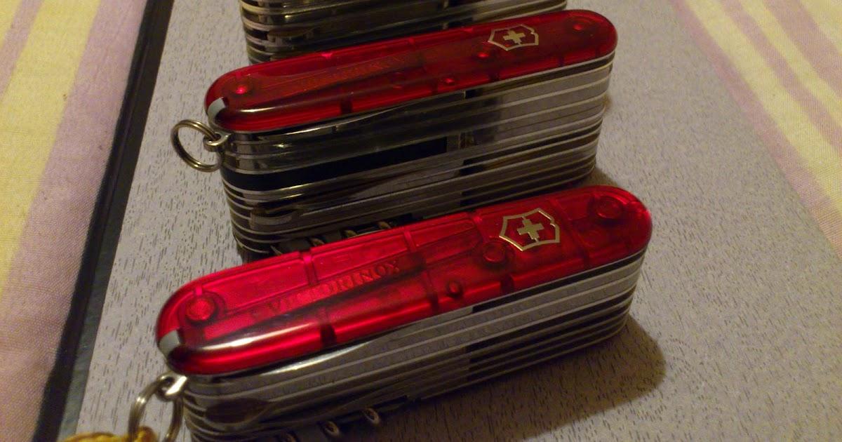 Mario S Swiss Army Knives Victorinox Swisschamp Xlt And