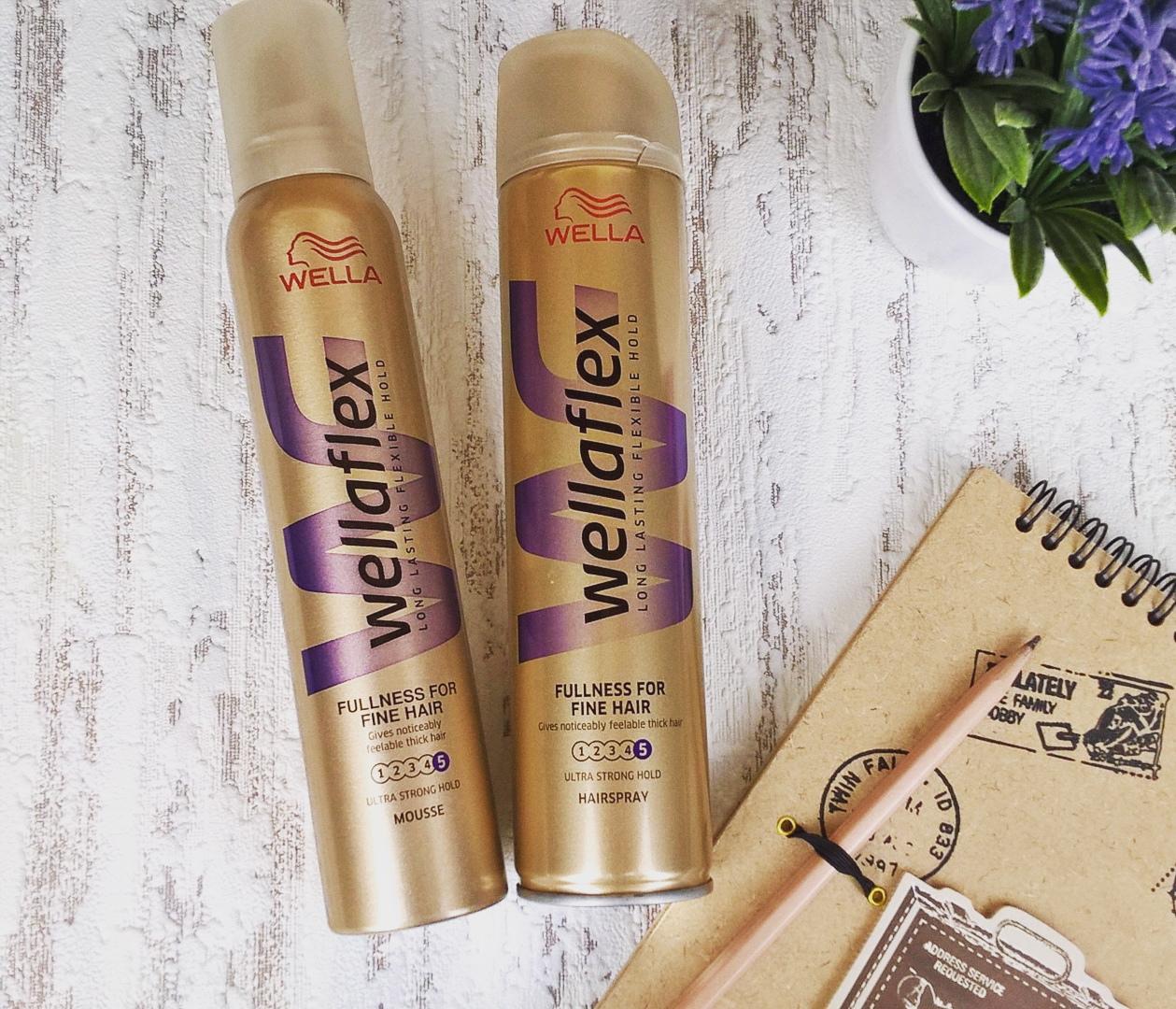 Lakier I Pianka Wella Wellaflex Fullness For Fine Hair