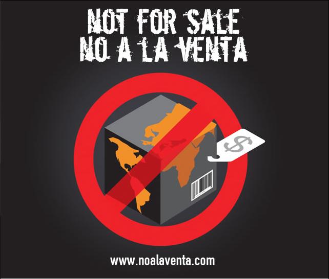 No a la venta