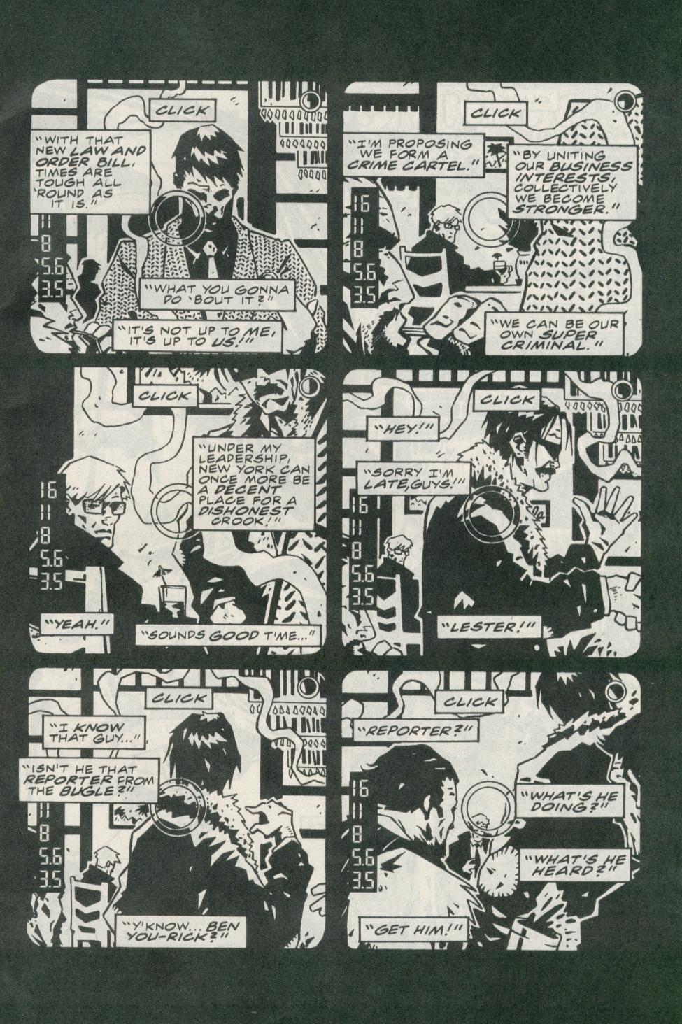 Read online Daily Bugle (1996) comic -  Issue #1 - 4