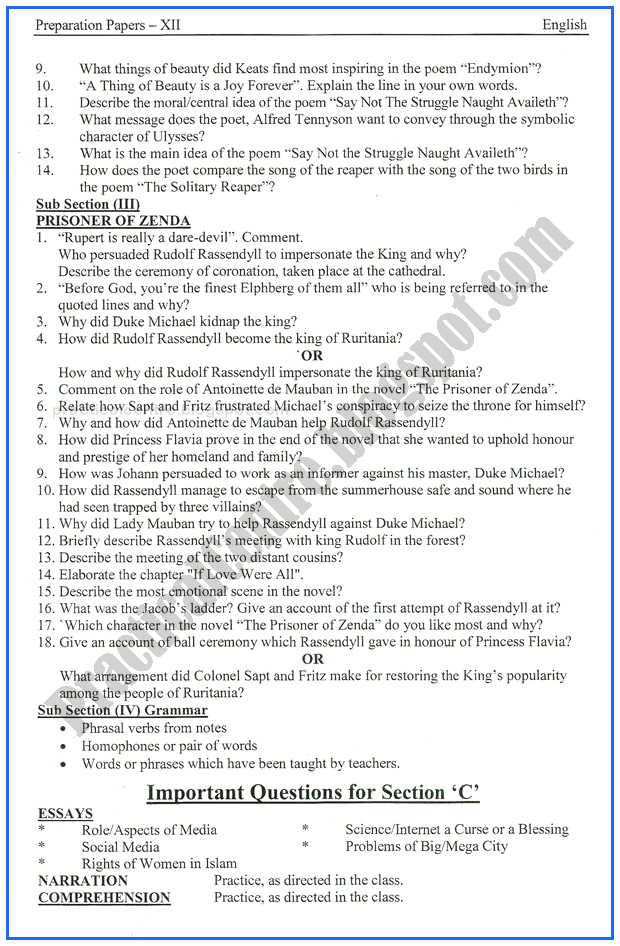 english-xii-adamjee-coaching-guess-paper-2017-commerce-group