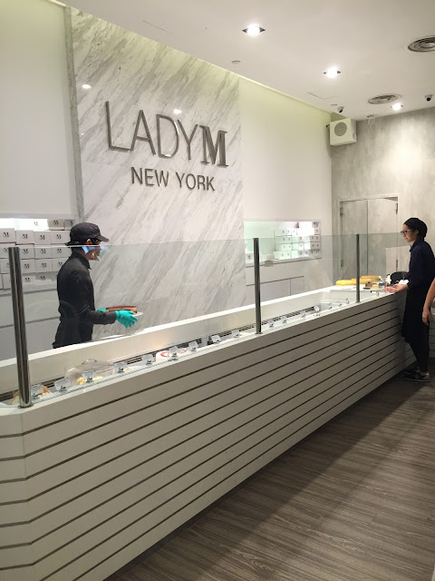 Lady M Confections Orchard Central Singapore