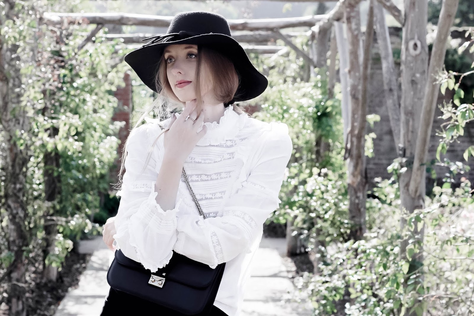Chic Fashion Blog How To Style Victoriana Blouse Edit
