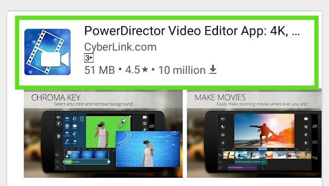 Powerdirector apk free Download + Download powerdirector mpd apk