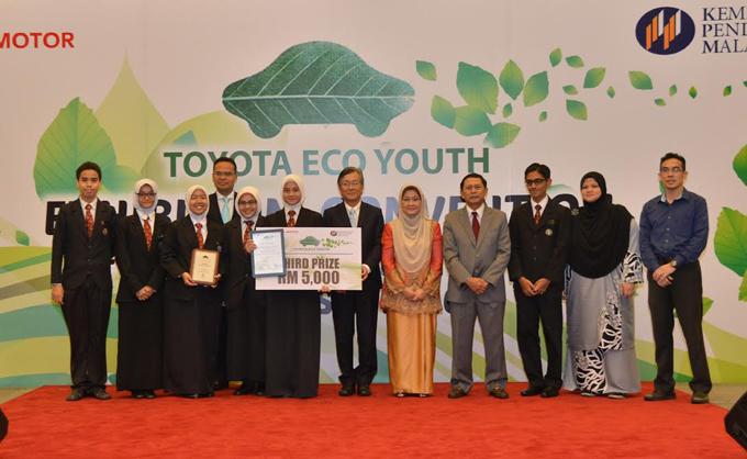 Toyota Eco Youth Lahirkan Idea Muda, Berani dan Kreatif Menyintai Alam Sekitar