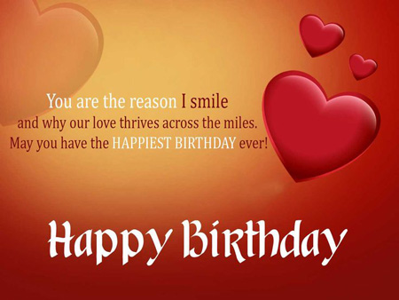 Birthday wishes from long distance quotes
