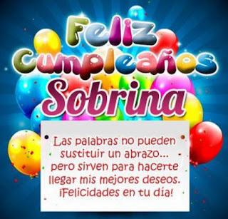 Feliz Cumpleaños Sobrina 1