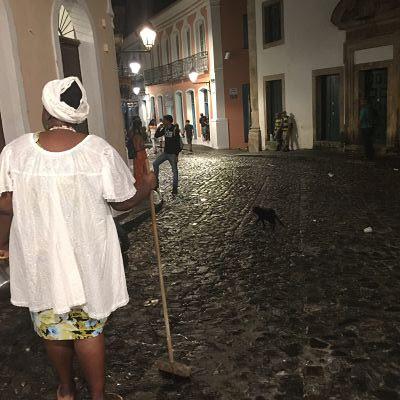 Pelourinho. Salvador de Bahia. Brasil. Baiana