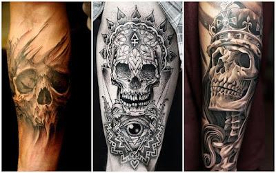 10 tatuajes de calaveras tienes que ver la 9 for Calavera lobo
