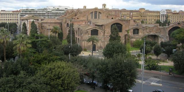 Thermas Di Diocleziano no Museu Nacional Romano