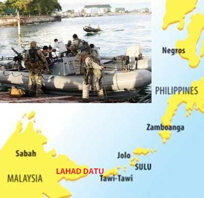 Sabah standoff: 'Publicity stunt'