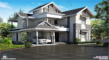 Modern Sloping Roof Design