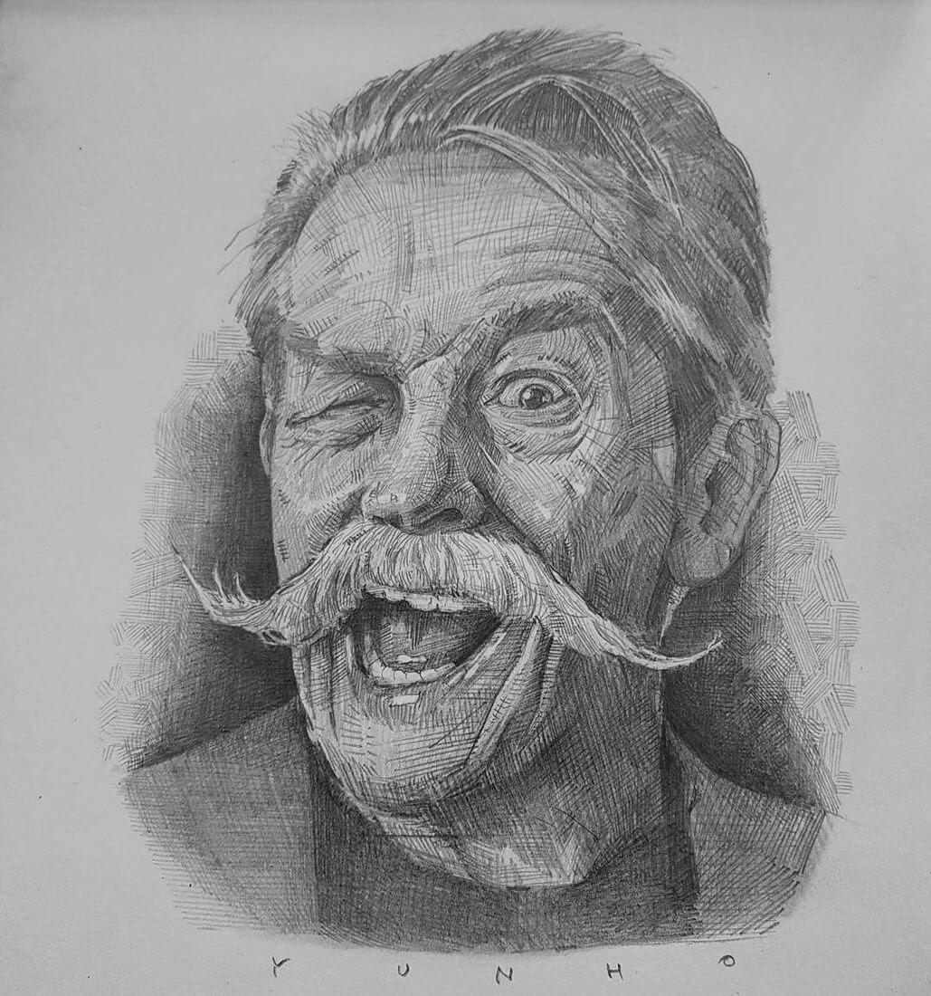 08-Yun-Ho-Kim-Expressions-in-Different-Pencil-Portrait-Styles-www-designstack-co