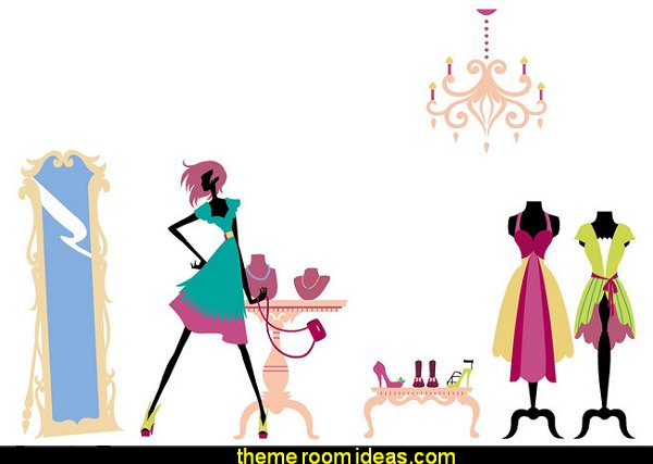 Runway Ready Wall Mural - Paint by Numbers