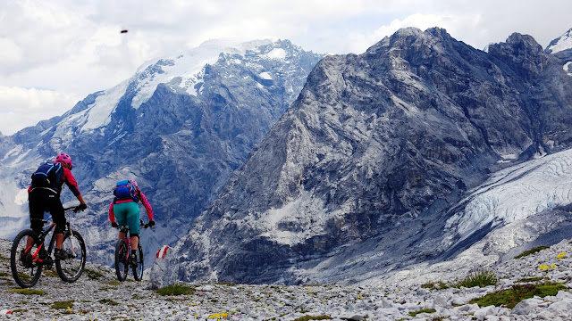 Tibet Trail - MTB - Vinschgau - Mountainbike Tour Stilfserjoch