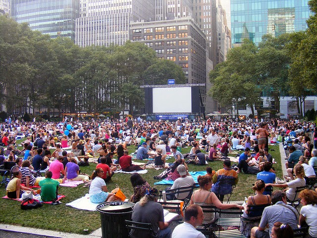 Outdoor Movies in NYC this summer!