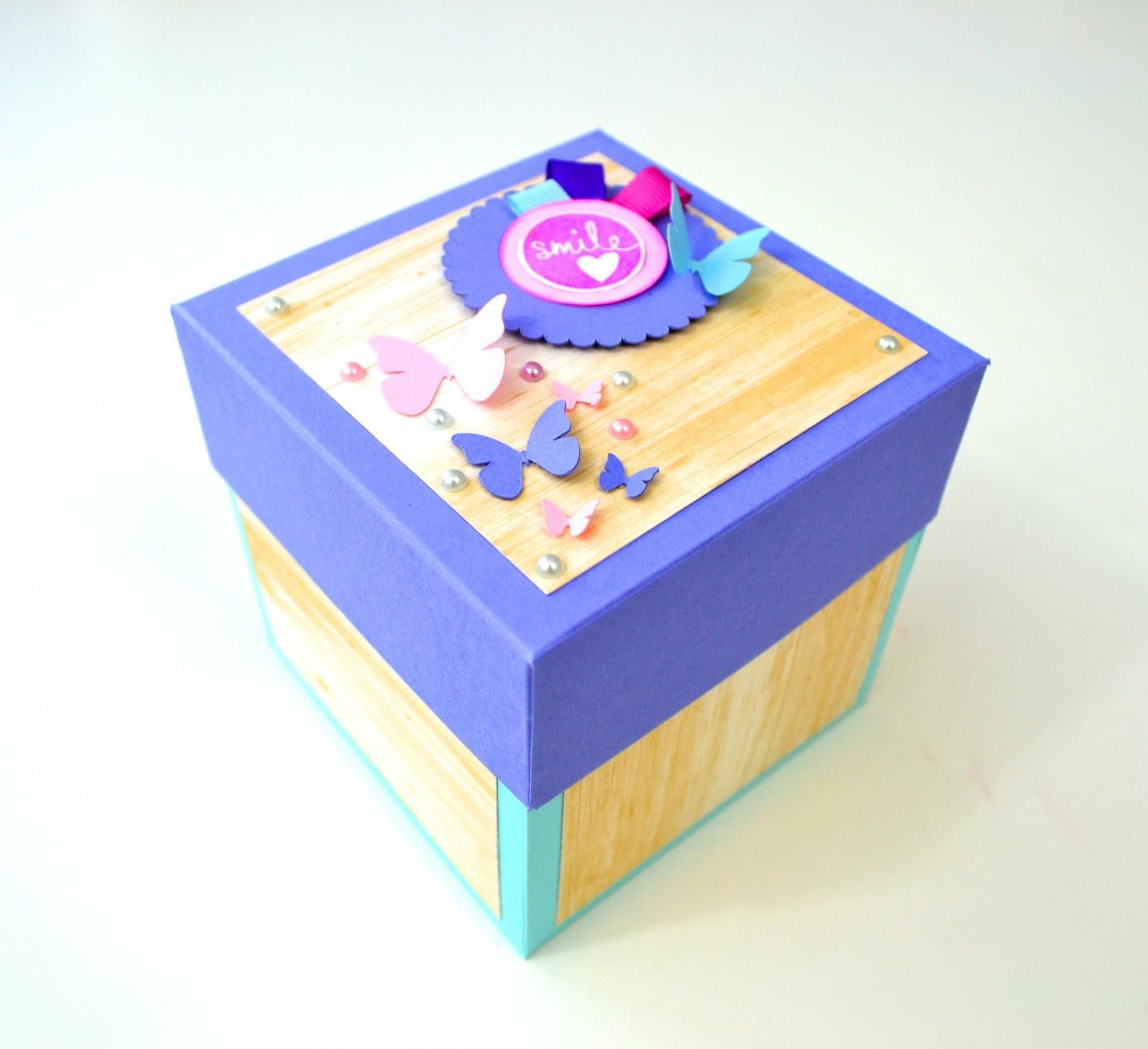Giulia's Art - DIY Paper Crafts: New Exploding Box model ... - photo#48