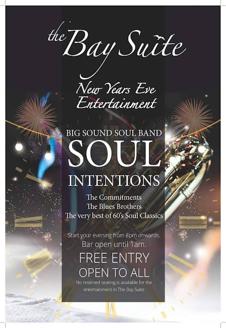 Soul Intention are playing New Years Eve at the Pier House, Westward Ho!