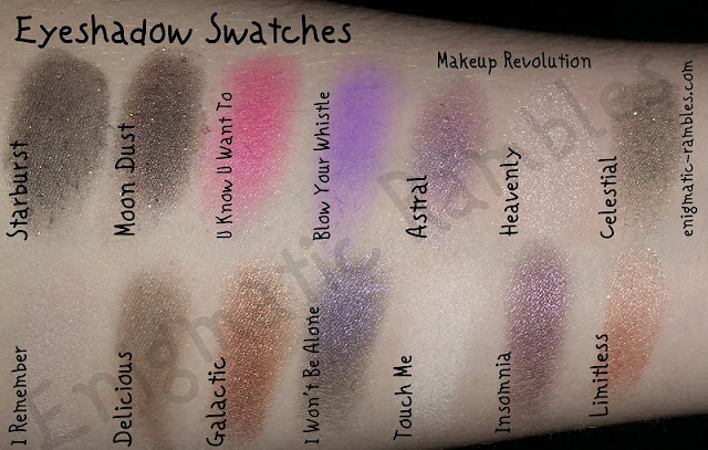 Makeup-Revolution-Single-Eyeshadow-Swatches