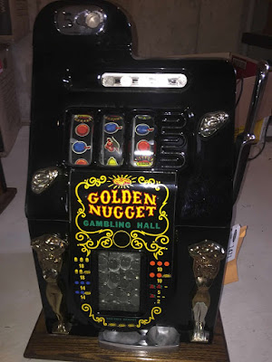 Slot machine - Golden Nugget