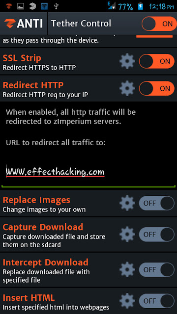 redirect all http requests