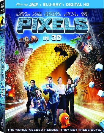 Pixels (2015) Dual Audio Hindi 480p BluRay 300MB ESubs Movie Download