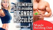 alimentación para ganar músculo
