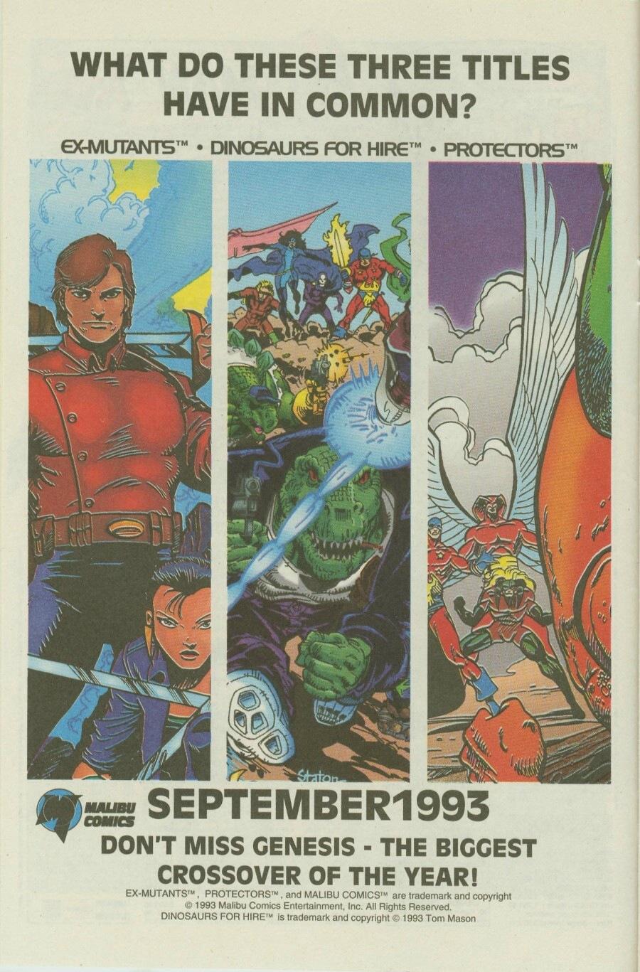 Read online Ex-Mutants comic -  Issue #8 - 12