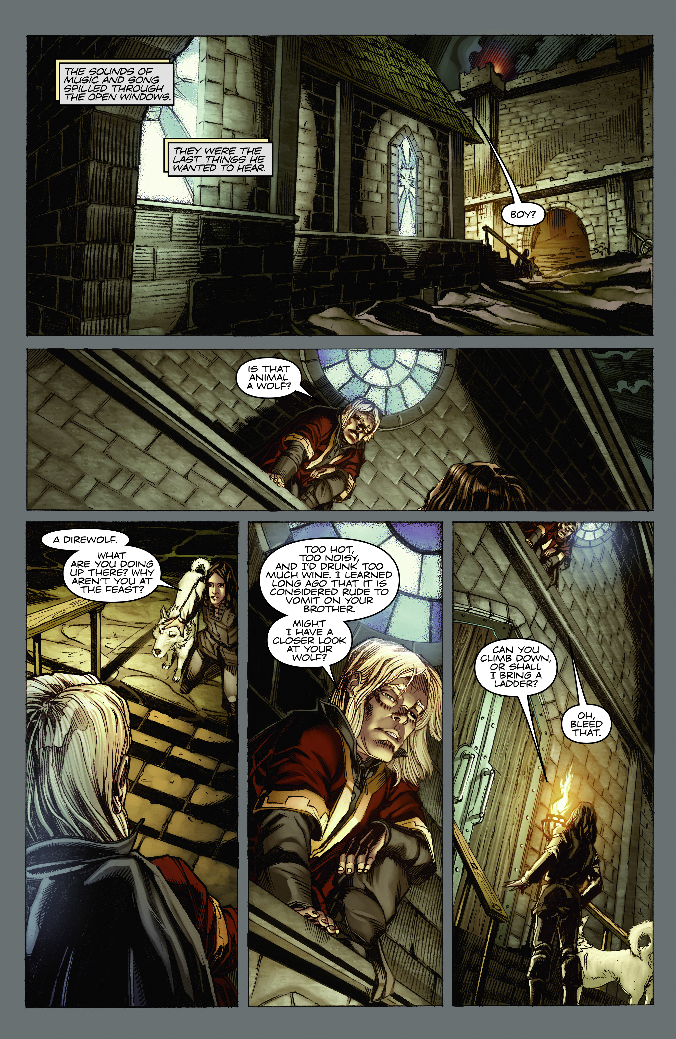 Read online A Game Of Thrones comic -  Issue #2 - 17